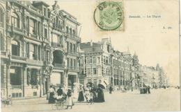 Ostende 1906; La Digue - Voyagé. (éditeur?) - Oostende