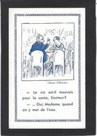 CPA Henriot Sur Le Vin Alcool Non Circulé Docteur Médecine - Henriot