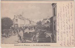 28708g  FOIRE AUX BESTIAUX - 1909 - Fleurus - Animé - Fleurus