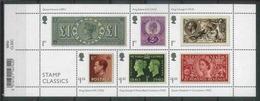 Great Britain 2019 Stamp Classics, Royalties, Queen Victoria, King George VI, Queen Elizabeth II - Blocks & Miniature Sheets