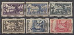 COTE D'IVOIRE 1940 YT 157/161** - MNH - Neufs
