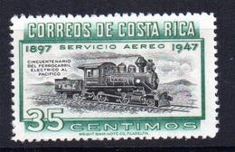 Sello Nº A-165 Costa Rica - Costa Rica