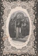 Ursula Kesteloot-lichtervelde 1828-bellem 1880-waarschijnlijk Rondom Gevouwen In Kerkboek Bewaard? - Devotion Images