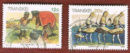 TRANSKEI - SG 148a.151   -  1984  XHOSA CULTURE  - USED - Transkei
