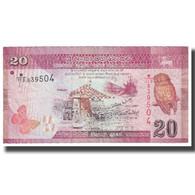 Billet, Sri Lanka, 20 Rupees, 2010, 2010-01-01, KM:123a, TTB - Sri Lanka