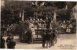 CPA PONT-AVEN-La Fete Des Fleurs D'Ajoncs-Le Concours De BINIOU (188720) - Pont Aven