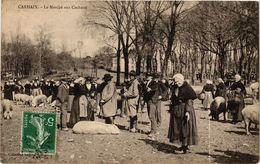 CPA CARHAIX - Le Marché Aux Cochons (193396) - Carhaix-Plouguer