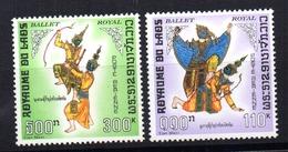 Serie  Nº A-56/7  Laos - Laos