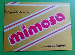 Calendrier De Poche Yaourt Mimosa. 1988 - Calendars