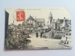 CPA 02 SOISSONS - Rue De I'Hotel Dieu (f) - Soissons