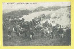 * Leopoldsburg - Kamp Van Beverloo (Limburg) * (Hesbania) Etat Major Dans Les Dunes, Armée Belge, Soldat Cheval, TOP - Leopoldsburg (Camp De Beverloo)