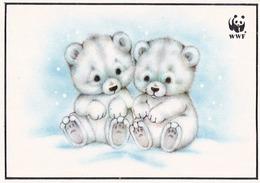 Polar Bear - Ours - Beer - Bär - Orso - Urso - Oso - Pro Natura - WWF Panda Logo - Ours