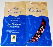 Advertising Brochure Of The Casino Ruhl De Nice - Cabaret La Madonette - Folletos Turísticos