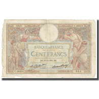 France, 100 Francs, Luc Olivier Merson, 1932, 1932-12-29, TB, Fayette:24.11 - 1871-1952 Antiguos Francos Circulantes En El XX Siglo