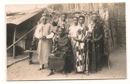 Afrique  - Cote D'Ivoire - Carte Photo   -  Chefs De Tribus - CPA° - Ivory Coast