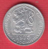 F7544 /  - 10 Haleru - 1975 - Czechoslovakia Tchécoslovaquie Tschechoslowakei - Coins Munzen Monnaies Monete - Czechoslovakia