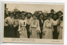 75 PARIS Mouvement Féministe Marche Des Midinettes 20 Oct 1903 Dans Les  Tuileries Avant Le Départ  ND 1     D11 2019 - France
