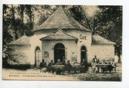 12 SYLVANES Clients Attablés   Terrasse Du CAFE Dans Le Pavillon XVII  écrite Longuementy     D11 2019 - Altri Comuni