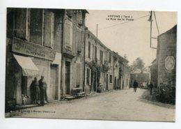 """81 ARFONS La Rue De La Poste Commerce """"Alimentation L'Abeille Tarnaise""""  Plaque Publicité Citroen       D11 2019 - Altri Comuni"""