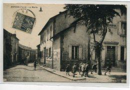 81 ARFONS Petits Ecoliers Jeux Place De La Mairie 1931 écrite Timbrée   D11 2019 - Altri Comuni