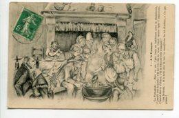 85 A La FESSURE Paysans Venséens Mangeant La Fressure Dans La Marmite 1914 écrite Timbre   D11 2019 - France