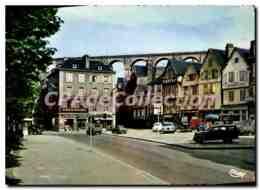 CPA Morlaix Finistere Place Des Viarmes - Morlaix