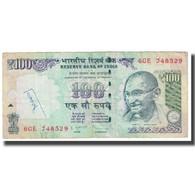 Billet, Inde, 100 Rupees, 2013, KM:98d, TB - Inde