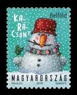 Hungary 2018 Mih. 6018II Christmas (flexographic Printing With With Glitter) MNH ** - Hungary