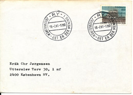 Denmark Cover Scout Scouting Ry Julsölejren 18-7-1981 Det Er Der Mening I - Scouting