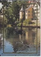 TÜBINGEN 7400 - Mit Hölderlinturm,   Marke Europa CEPT 1987 - Tübingen