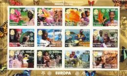 Guinea 2006 - 50th Anniversary First Stamp Europa 12v; Michel : 4202 - 4213. - Guinée (1958-...)