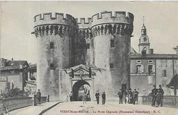 55, Meuse, VERDUN SUR MEUSE, La Porte Chaussée, Scan Recto-Verso - Verdun