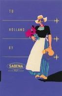 Étiquettes à Bagages - Sabena - To Holland Riviera By Sabena - Baggage Etiketten
