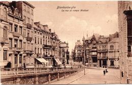 BE-251: BLANKENBERGHE: La Rue Et Rampe Malécot - Feldpost 1915 - Blankenberge