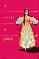 Étiquettes à Bagages - Sabena - To Poland Riviera By Sabena - Baggage Labels & Tags