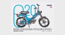 Bosnië & Herzegovina / Bosnia - Postfris / MNH - Complete Set Motorfietsen 2019 - Bosnië En Herzegovina