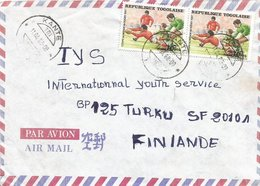 Togo 1988 Kante Rugby World Championship Cover - Rugby