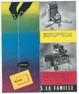 Brochure Publicitaire Cadeaux Kodak Qui Apporte La Joie Dans La Famille - Photographie