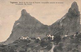 CPA ESPAGNE TAGANANA BARRIO STA CRUZ DE TENERIFE IMMEJORABLE ESTACION DE INVIERNO - Tenerife