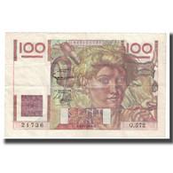 France, 100 Francs, Jeune Paysan, 1953, 1953-12-03, TTB, Fayette:28bis.2 - 1871-1952 Antichi Franchi Circolanti Nel XX Secolo