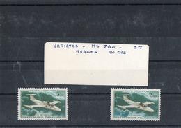 """"""" MS 760 PARIS """" ( 1964 ) - Variété : Nuages Bleus ( 2 Timbres Neufs ) - Variétés: 1960-69 Neufs"""