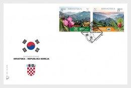 Kroatië / Croatia - Postfris / MNH - FDC Joint-Issue Met Korea 2019 - Kroatië