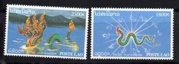 Serie Nº 1369/70  Laos - Laos