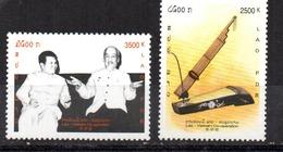 Serie Nº 1455/56  Laos - Laos