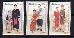 Serie Nº 1399/401  Laos - Laos