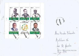 Togo 2019 Kara Presidents Independance MS Michel Block 529 Cover - Togo (1960-...)