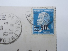 Marcophilie - Lettre Enveloppe Obliteration - Timbre N°222 Seul - 1926 (2488) - Marcophilie (Lettres)