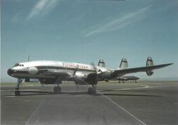 Flying Tiger Line Lockheed L-1049H Costellation N6919C At SFO Aviation Airplane - 1946-....: Era Moderna