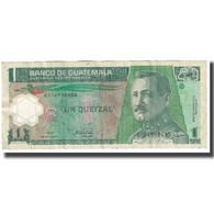 Billet, Guatemala, 1 Quetzal, 2008, 2008-03-12, KM:109, TB - Guatemala