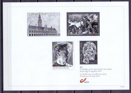 Belgie - 2019 - ** ZW-Wit Blaadje - 4/5 Eerste Dag 26 Augustus 2019  **  Niet Genormaliseerd - Black-and-white Panes